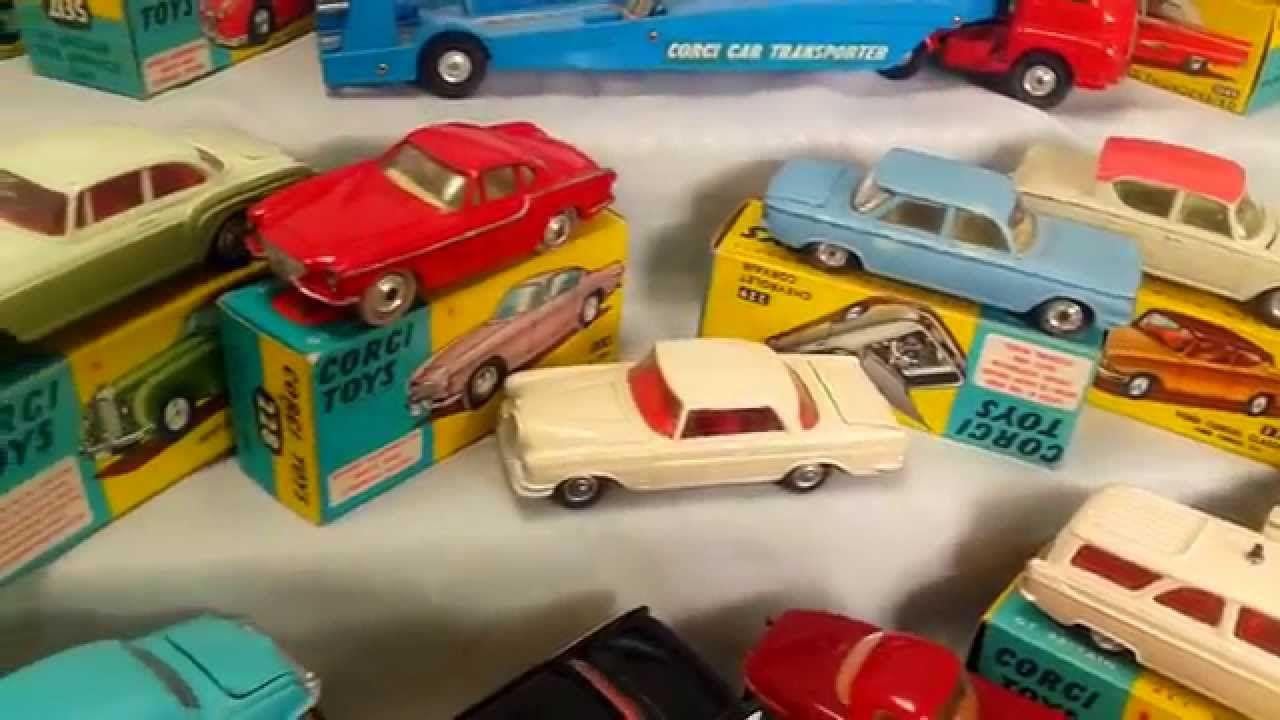 Corgi and Dinky cars