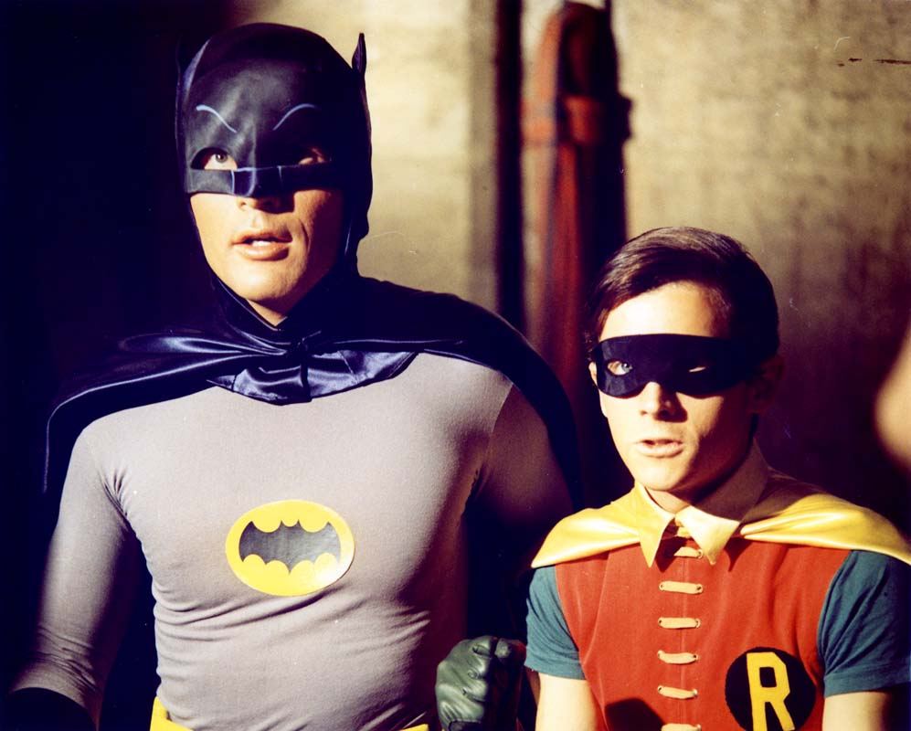 The Batman TV show from the 1960's.