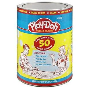 1950's Play Doh.