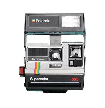 Polaroid camera 635